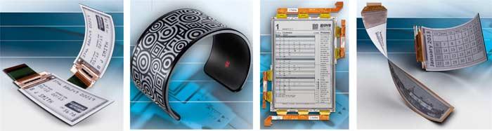 Области применения гибких e-paper