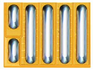 eGaN-транзистор EPC2016C 100 В, 75 А, 16 мОм имеет размеры 2,1 мм х 1,6 мм