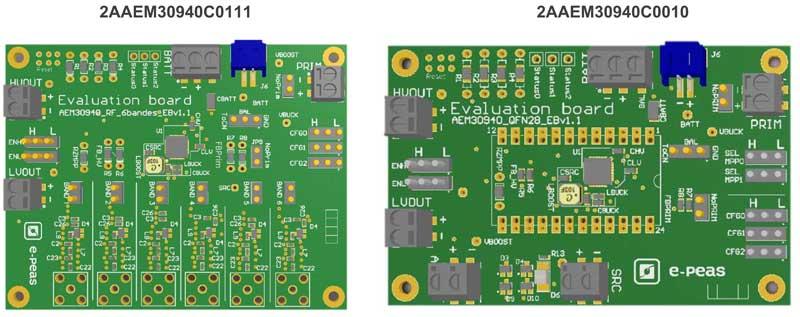 Внешний вид отладочных плат для AEM30940