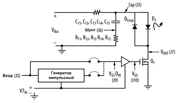 Функциональная схема драйверов EPC9126xx
