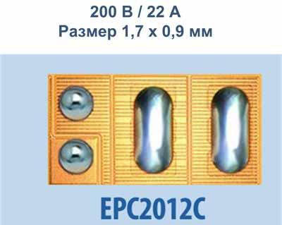 eGaN-транзистор EPC21012С