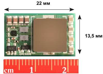 Силовой оценочный модуль EPC9205