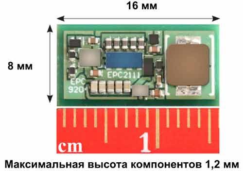 Силовой оценочный модуль EPC9204