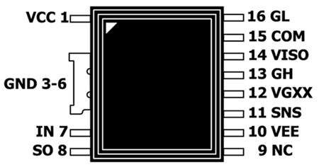 корпус SIC1182K