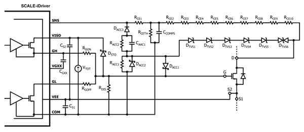 Для управления SiC-транзистором потребуется множество дополнительных компонентов