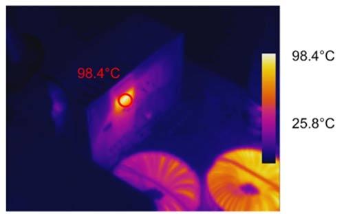 Исследование теплового режима платы LMG3410-HB-EVM