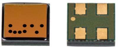 Внешний вид пироэлектрических датчиков приближения серии PL от Kemet