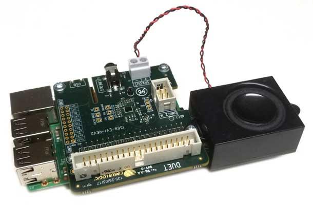 Cостав отладочного набора Alexa Voice Capture Development Kit for Amazon AVS от компании Circus Logic
