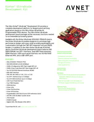 AES-KU040-DB-G (Avnet Electronics Marketing) купить по