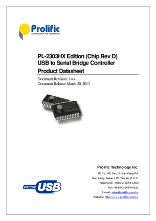 PROLIFIC TECHNOLOGY INC USB TO SERIAL WINDOWS 8 DRIVERS DOWNLOAD